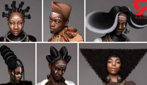 جهانی شدن مدل مو های خاص زن آرایشگر! عکس