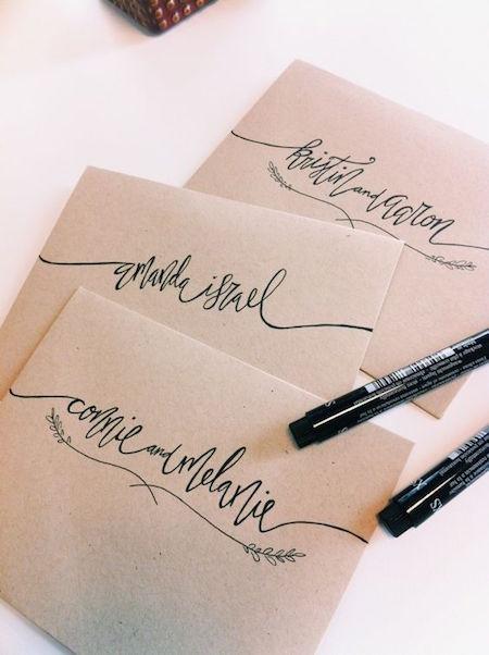 دست خط