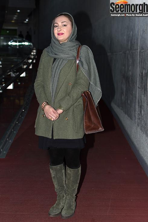 مدل مانتو هانیه توسلی در جشنواره فجر 35