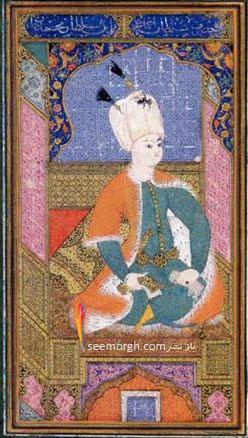 چهره سلطان احمد در 13 سالگی زمانی که به سلطنت رسید