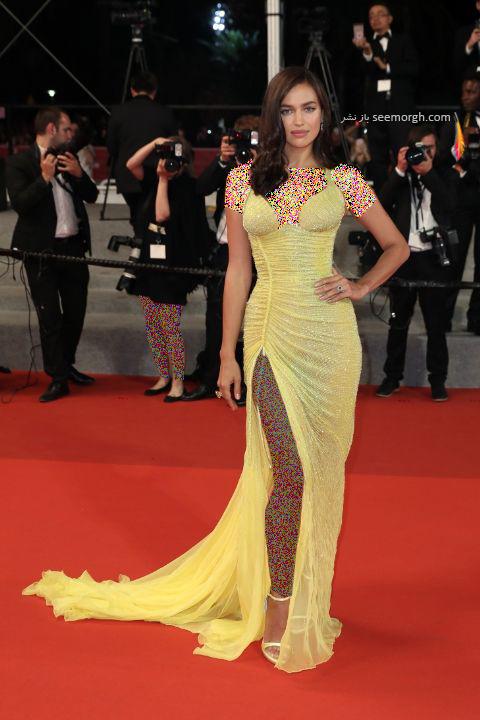 مدل لباس ایرنیا شایک Irina Shayk در جشنواره کن 2017 Cannes