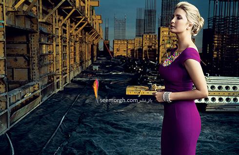 ایوانکا ترامپ Ivanka Trump دختر دونالد ترامپ Donald Trump - عکس شماره 7