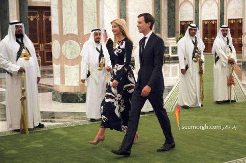 نگاه عربستانی ها به ایوانکا ترامپ