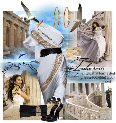 ست کردن لباس شب به سبک جنیفر لوپز Jennifer Lopez - عکس شماره 1