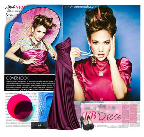 ست کردن لباس شب به سبک جنیفر لوپز Jennifer Lopez - عکس شماره 2