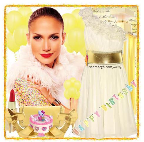 ست کردن لباس شب به سبک جنیفر لوپز Jennifer Lopez - عکس شماره 6
