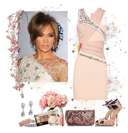 ست کردن لباس شب به سبک جنیفر لوپز Jennifer Lopez - عکس شماره 7