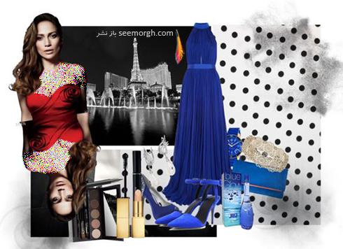 ست کردن لباس شب به سبک جنیفر لوپز Jennifer Lopez - عکس شماره 9