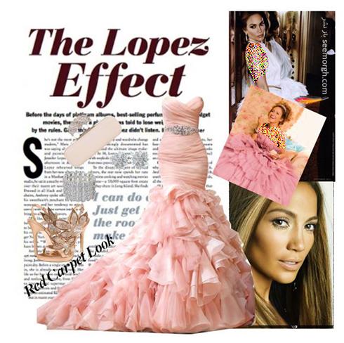 ست کردن لباس شب به سبک جنیفر لوپز Jennifer Lopez - عکس شماره 10