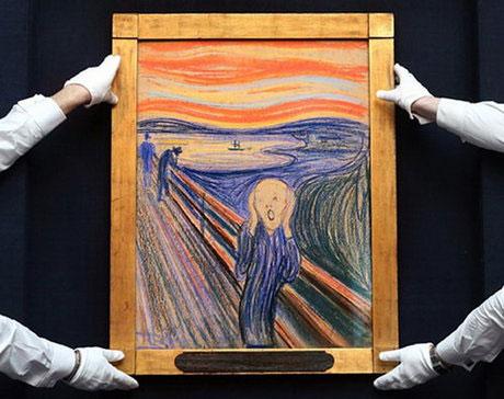 تابلو نقاشی جیغ