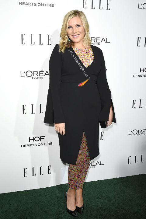 مدل لباس ژوئن دایان رافائل June Diane Raphael در میهمانی مجله ال Elle
