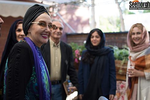 کتایون ریاحی در مراسم رونمایی از فیلمنامه کوروش کبیر