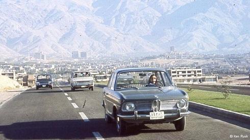 جاده های ایران در دهه 50