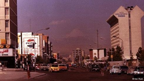 خیابان های ایران در دهه 50