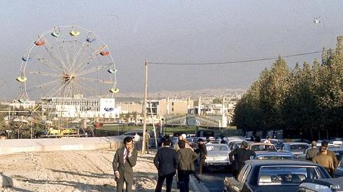 میدان ونک تهران حوالی سال ۱۳۵۰