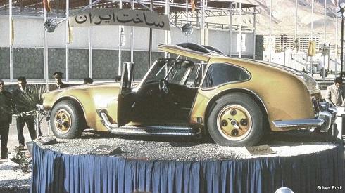 خودروی ایرانی که حوالی سال ۱۳۵۰ ساخته شده است