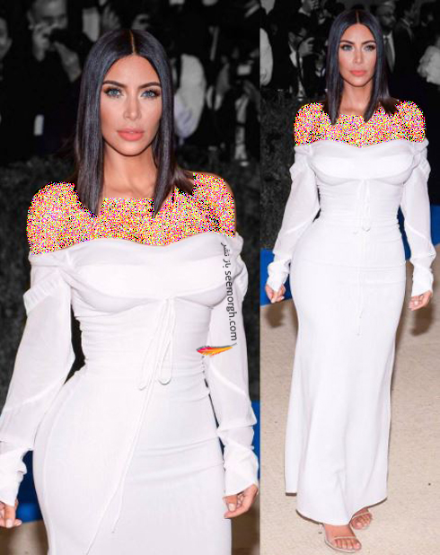 مدل لباس کیم کارداشیان Kim Kardashian در مراسم مت گالا Met Gala 2017