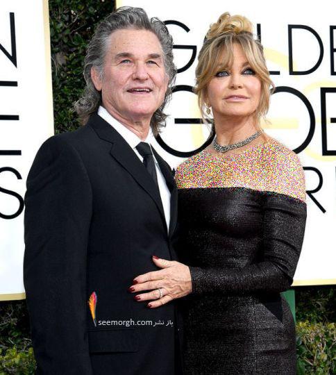 كرت راسل و همسرش گولدی هان با بیش از 30 سال زندگی مشترک