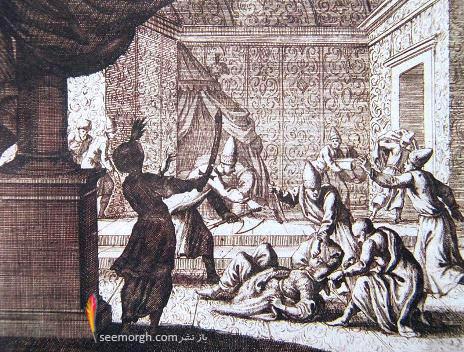 لحظه مرگ کوسم سلطان