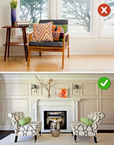 مبلمان را بر طبق دیزاین اتاق انتخاب کنید نه بر طبق سلیقه شخصی