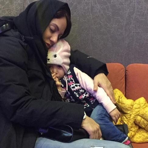 عکس جدید مهناز افشار و دخترش لیانا