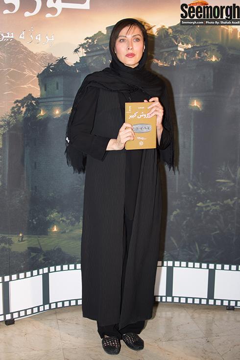 مهتاب کرامتی در مراسم رونمایی از فیلمنامه کوروش کبیر