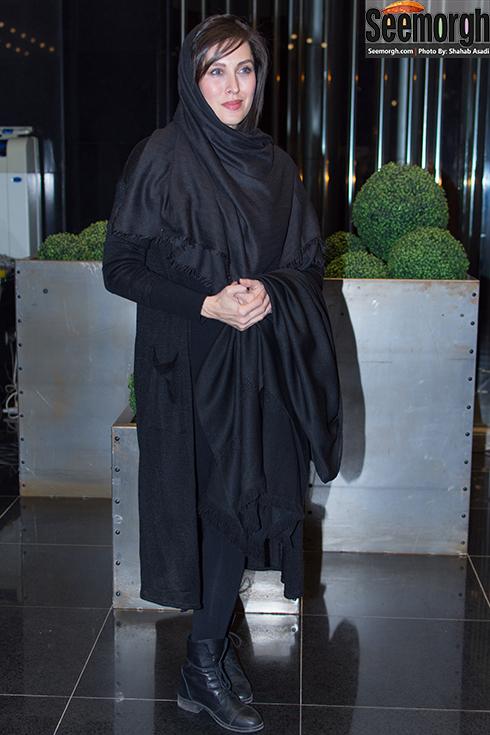 مدل مانتو مهتاب کرامتی در مراسم اکران فیلم ماحی