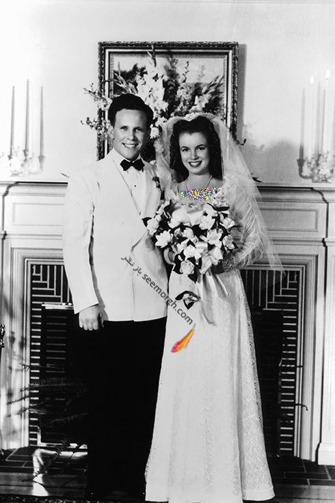 مریلین مونرو و جیم دوگرتی