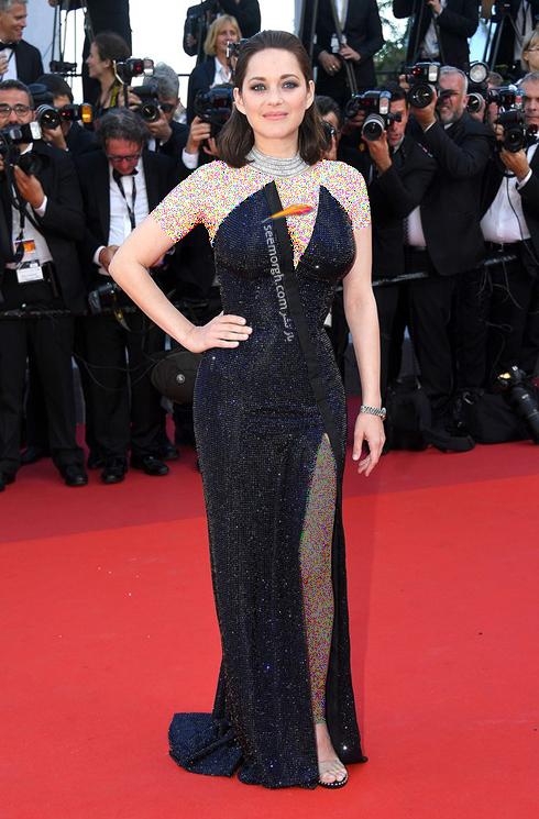 مدل لباس ماریون کوتیلارد Marion Kotillard در هفتمین روز جشنواره کن 2017 Cannes