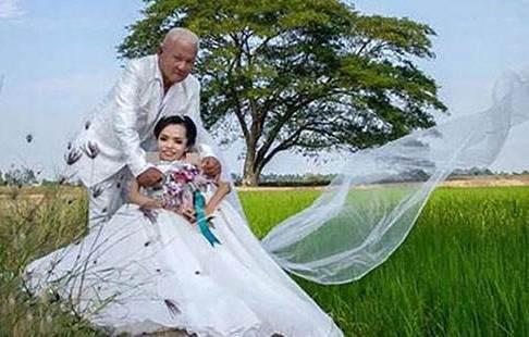 ازدواج سایفون 38 ساله و همسر 68 ساله اش