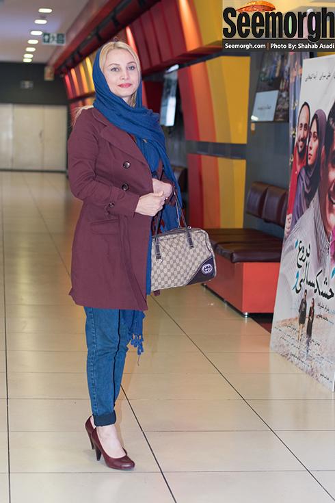 مریم کاویانی در اکران فیلم نفس