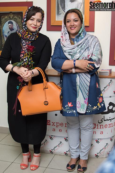 مهراوه شریفی نیا و غزاله سلطانی (کارگردان پرسه در حوالی من)