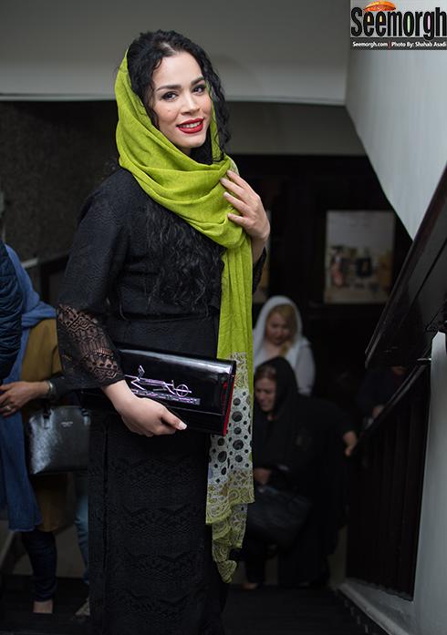 ملیکا شریفی نیا در اکران خصوصی مفت آباد