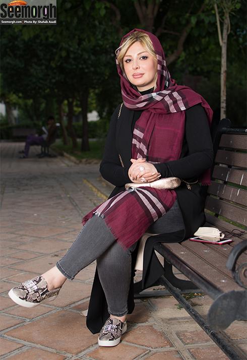 طلاق نیوشا ضیغمی از همسرش جواد عزتی و همسرش, نیوشا ضیغمی در نقد هفت معکوس