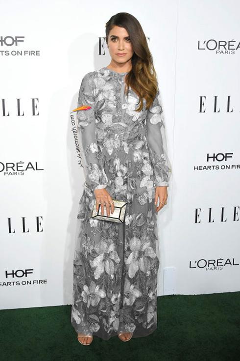 مدل لباس نیکی رید Nikki Reed در میهمانی مجله ال Elle