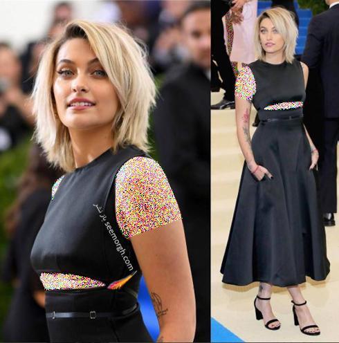 مدل لباس پاریس جکسون Paris Jakson در مراسم مت گالا Met Gala 2017
