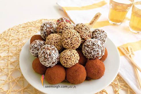 طرز تهیه ترافل خرما برای افطار ماه رمضان