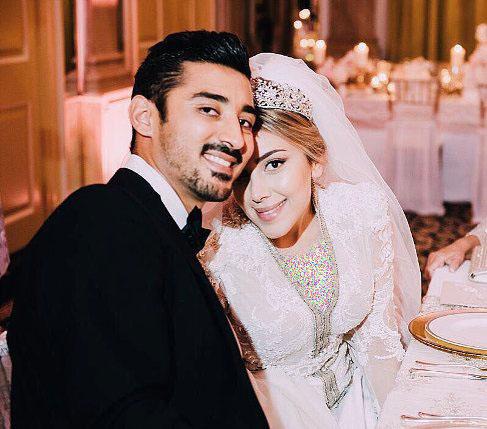 عکس سروین بیات و همسرش رضا قوچان نژاد