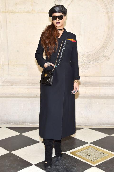 مدل لباس ریحانا Rihanna در هفته مد نیویورک