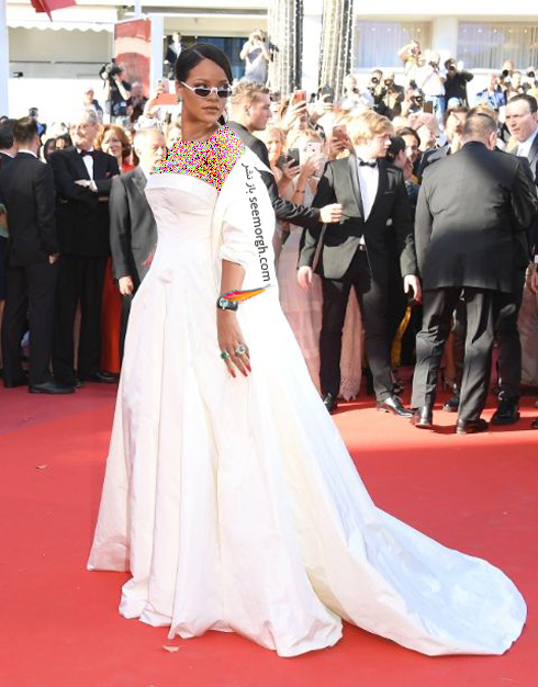 مدل لباس ریحانا Rihanna در جشنواره کن 2017 Cannes