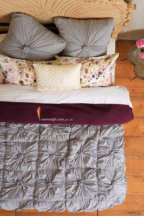 دکوراسیون اتاق خواب تان را با بازی کردن با شکل های مختلف رمانتیک بچینید
