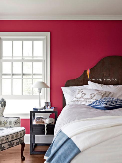 برای دکوراسیون اتاق خواب تان رنگ قرمز را هرگز فراموش نکنید