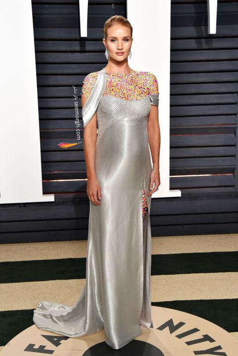 مدل لباس رزی هانتینگتون Rosie Huntington در هفته مد نیویورک