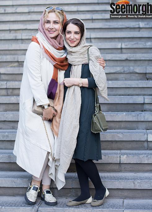 سحر جوزانی و آنا نعمتی