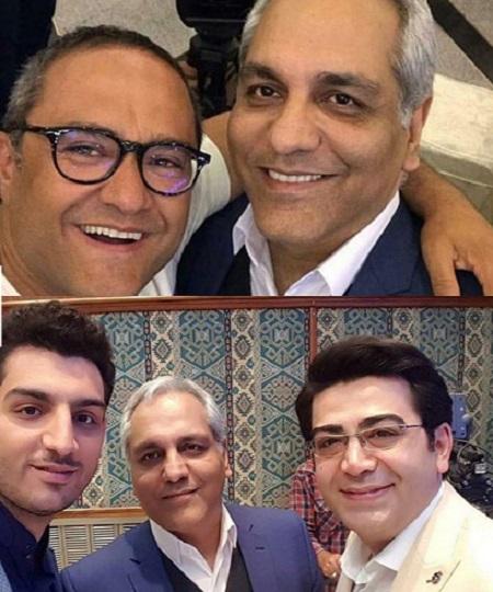 مهران مدیری, فرزاد حسنی و رامبد جوان