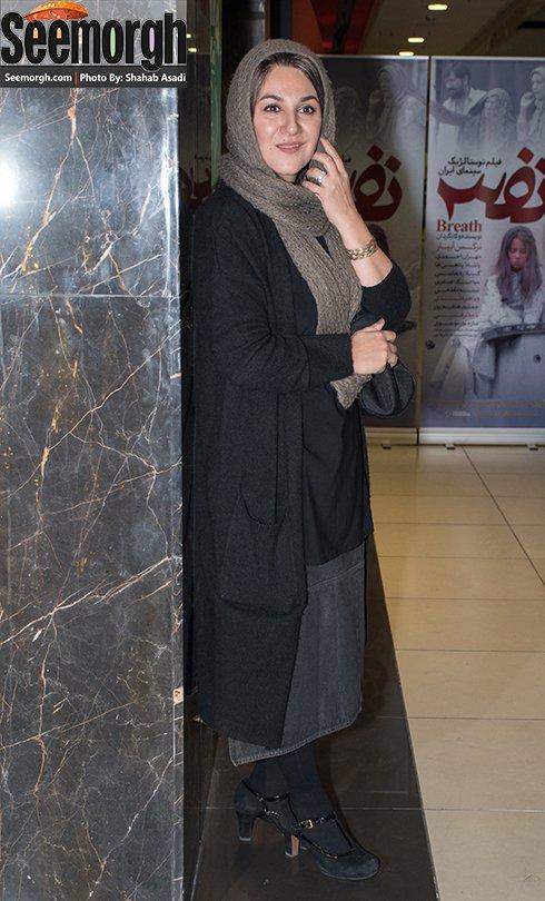 مدل مانتو ستاره اسکندری در اکران فیلم نفس