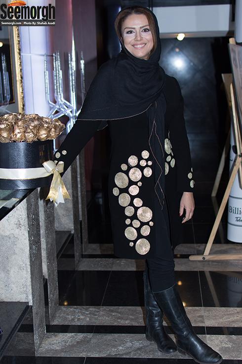 مدل مانتو شبنم فرشادجو در مراسم اکران فیلم ماحی