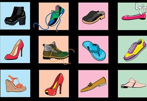 کدام کفش را میپسندید؟