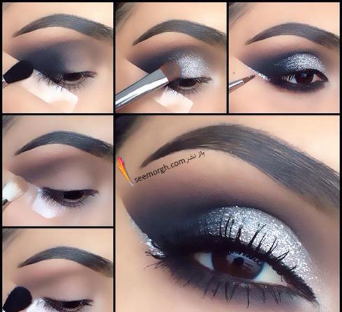 آموزش آرایش چشم دودی - مدل شماره 3