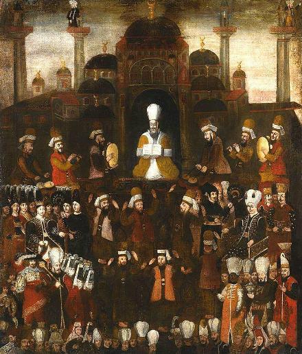 مراسم جلوس سلطان عثمان جوان، سال ۱۶۱۸